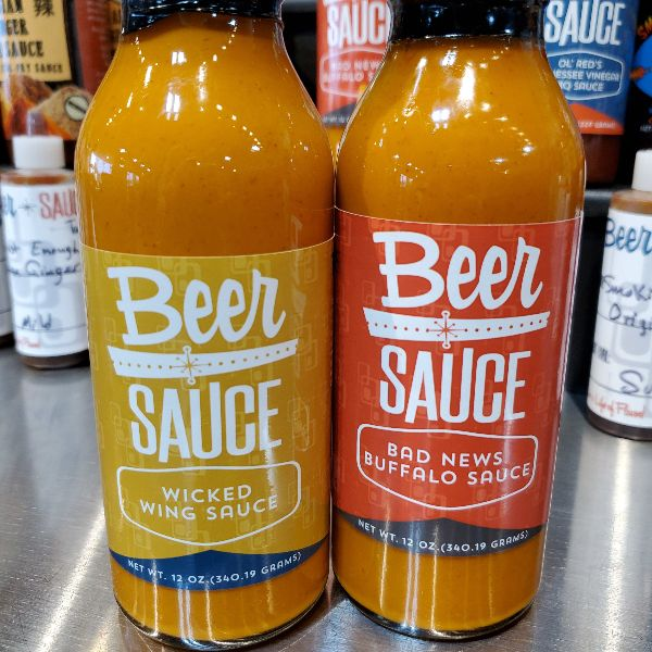 Wicked Wing & Bad News Buffalo | Sauces BeerSauce Shop