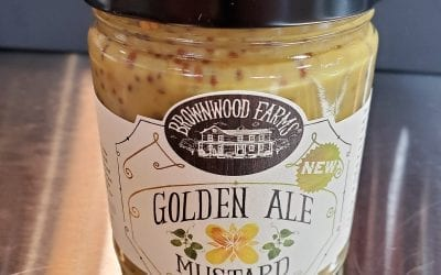 Golden Ale Mustard Brownwood Farms