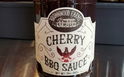 Cherry BBQ Sauce Brownwood Farms