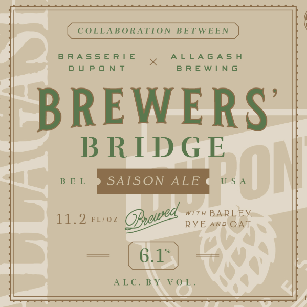 Brewer's Bridge | Allagash + Dupont