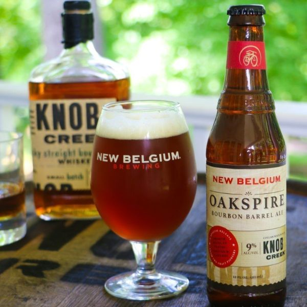 OakSpire Bourbon Barrel Ale | New Belgium