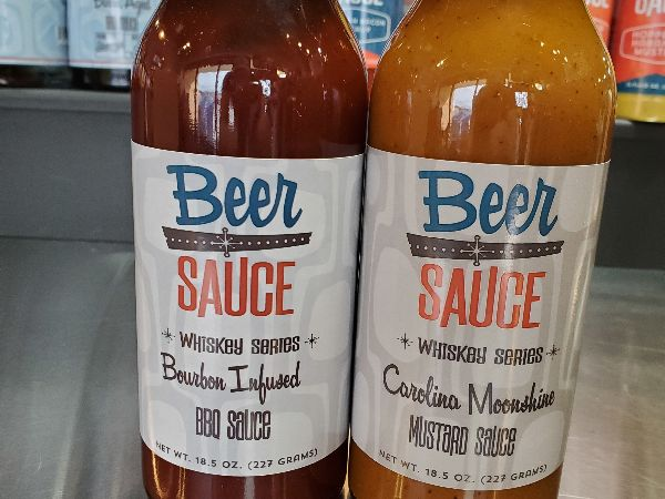 Bourbon & Moonshine Infused Sauces!