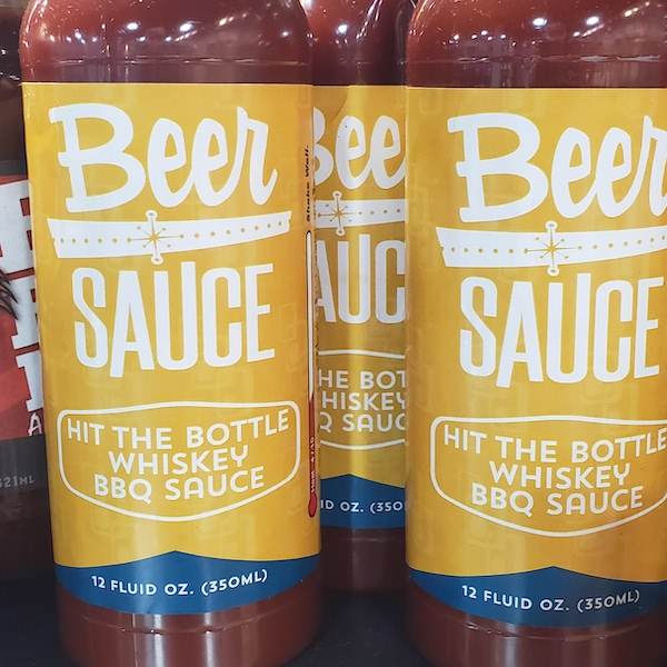 Hit the Bottle Whiskey BBQ Sauce