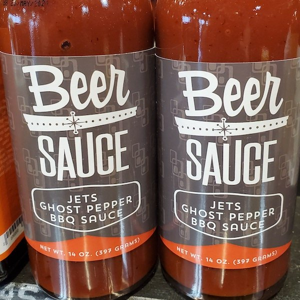Jet's Ghost Pepper BBQ Sauce