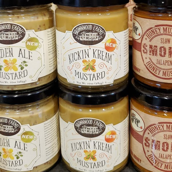 Kickin' Kream Mustard | Brownwood Farms