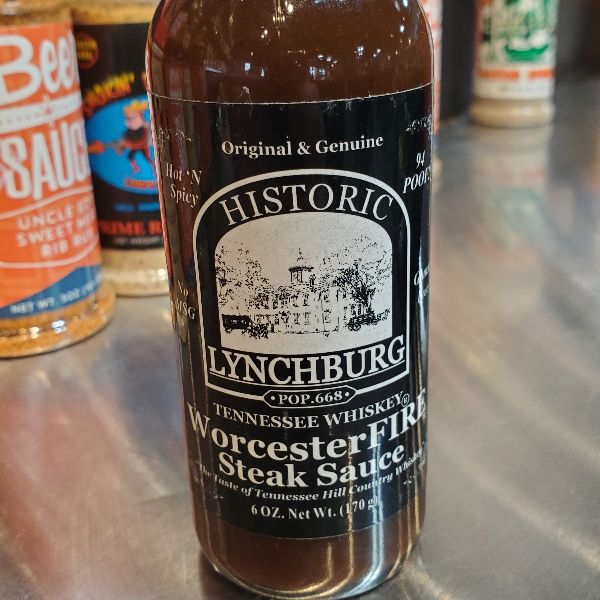 WorcesterFIRE Steak Sauce