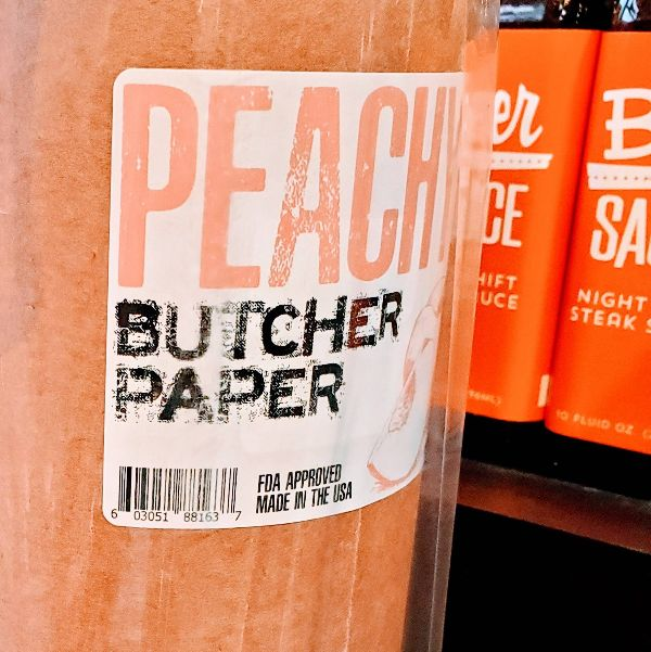 Peach Butcher Paper