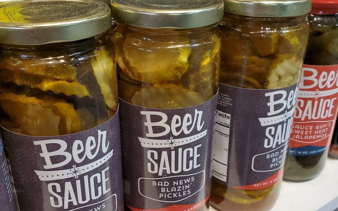 Bad News Blazin Pickles | BeerSauce Shop